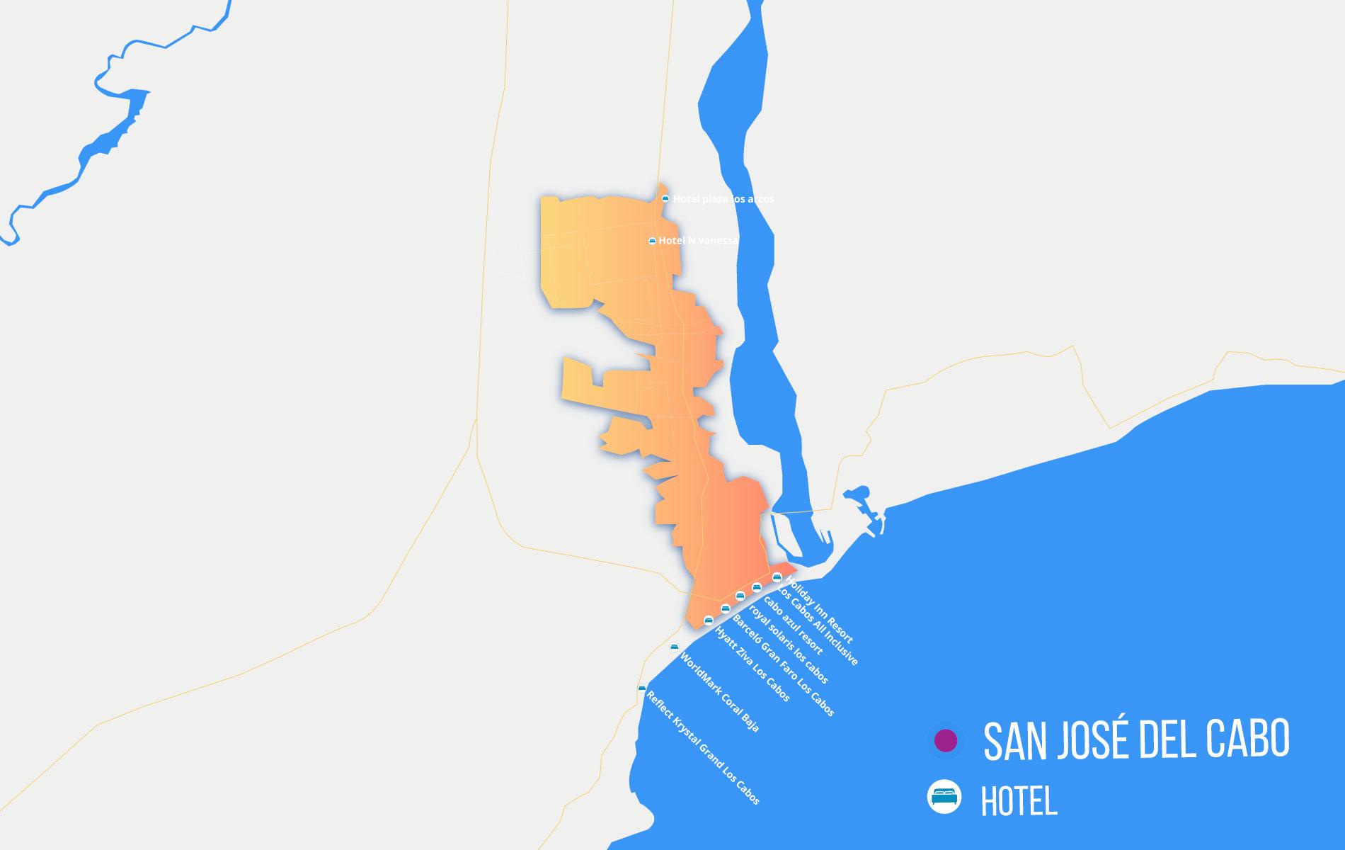 Cabo San Lucas Map